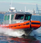 Photo of Coast Guard Rigid Hull Inflatable Boat (RHI)