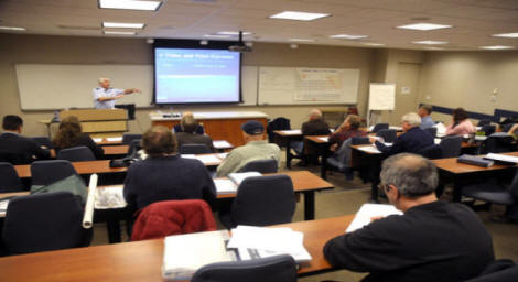 Image Of Public Education Course Classroom