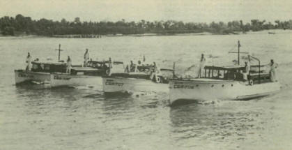 Reserve Boats In Formaiton Image