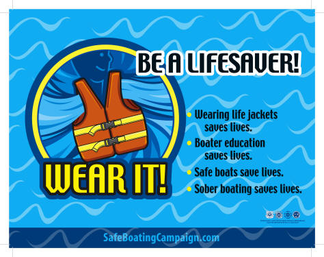 Be a Lifesaver! Wear It! Image